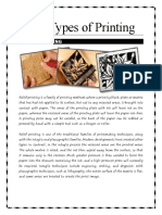 The Types of Printing