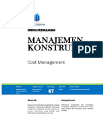 Modul 7 - Cost Management (1)