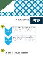 2. Cultural Tourism (Awey, Suryadi, Dwi)