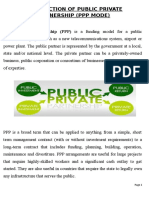 Report on PPP in India
