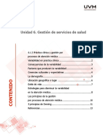 Practica clínica y gestión por procesos de atención médica