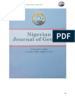 Monitoring and Analysis of Deformation of Ikpoba River Bridge, Benin City, Edo State, Using Global Positioning System by Ono, M. N., Eteje, S. O., Aghedo, H. O., and Oduyebo, F. O.