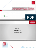 Impacto Automatizacion y Robotica en Modelo de Negocio Short Version