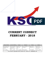 February 2018, Current Connect, KSG India