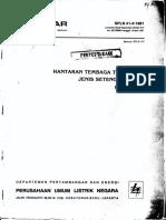 Spln 41-4-1981 Hantaran Cu Telanjang Jenis Setengah Keras (b