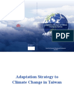 Adaptation Strategy to Climate Change in Taiwan-Eng-2012