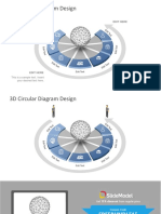 3d Circular Diagram Design 16x9