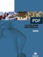 Catalogo Desnivel 2009