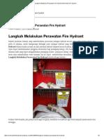 Langkah Melakukan Perawatan Fire Hydrant _ Bromindo Fire System