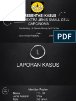 Ppt referat kanker paru small cell carcinoma