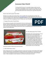 Kemampuan Mengkonsumsi Obat Fiforlif