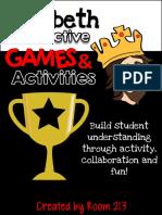 Macbeth Interactive Games Activities