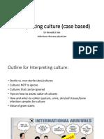 Interpreting Culture