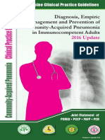 Community-Acquired Pneumonia - CPG 2016