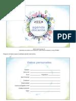 Agenda Docente 3 Editable