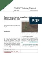 GIS Tool for Distribution Reference Evap