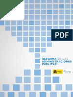 Cora Reforma de las Administraciones Públicas