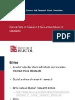 Ethics Workshop Mar 2 2018