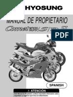 Manual Comet 650 Ri (2007) ESPAÑOL