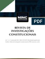 investigações constitucionais