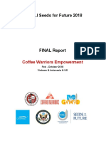 Final Report - Coffee Warriors Empowerment