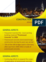 Methods of Construction of Prestressed Members