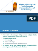 Standardization of Herbal Products
