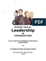 A New Approach of Leadership