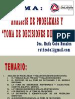 11a Sesión Toma de Decisiones Directivas