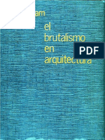 El brutalismo en arquitectura