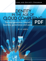 Identity in the Age of Cloud Computing