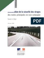 Amélioration de la sécurité des virages des routes principales en rase compagne.pdf