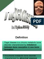 Paget disease BONE