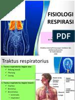 Dr. Fadilla Fisiologi Respirasi Ppt