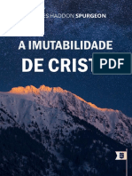 A Imutabilidade de Cristo