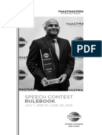 1171 Speech Contest Rulebook 2018-2019
