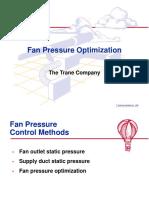 Fan Pressure Control Methods