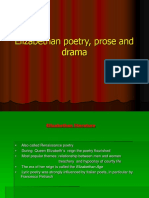 POETRY PROSE AND DRAMA