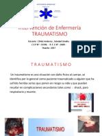 Intervención de Enfermería TRAUMATISMO