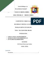 Tratados y Convenios Entre Perú y Brasil