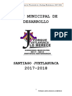 Plan Santiago Juxtlahuaca 2017-2018