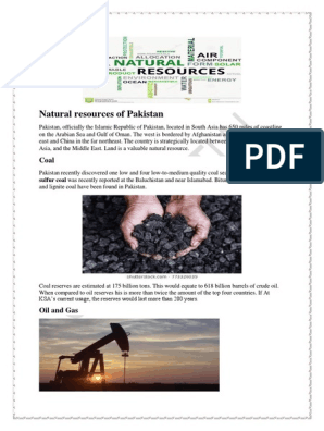 Front page of assignment | Coal | Agriculture
