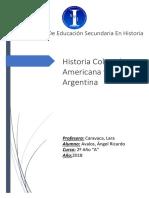 Historia Colonial Americana y Argentina