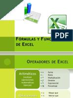 Fórmulas y Funciones de Excel