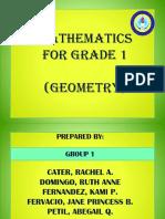 MATHEMATICS  FOR GRADE 1 Ppt.