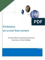Eichmann Un Accuse Hors Normes
