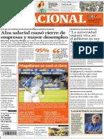 El Nacional, edición del domingo 18 de noviembre de 2018