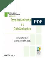 Teoria de semicondutores e diodo