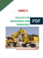 Libro 5 Cálculo Flota Maquinaria Carguío y Transporte Mineral