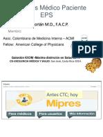 Pacientes MD y MIPRES - Colombia